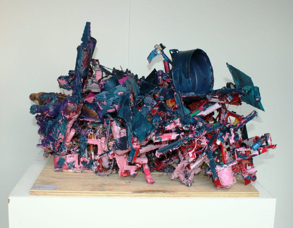 uden titel, div materialer, 60 x 49 x42 cm