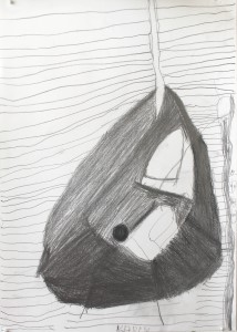 Båd, tegnet af Karin