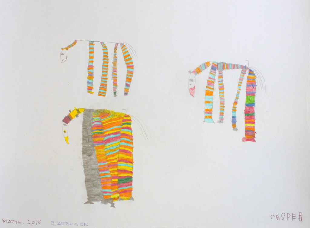 Tre Zebraer